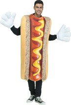 Fun World Foto Echt Hot Hund Lustig BBQ Essen Erwachsene Herren Hallowee... - £22.55 GBP