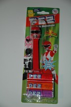 Power Rangers red   Pez Dispenser  with candy new sealed mighty morphin - $9.75