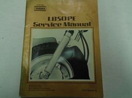 1977 1978 Yamaha LB50PE Service Shop Repair Manual Used Worn Factory OEM... - $25.06