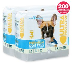 Paw Inspired Puppy Pads, Dog Pads, Pee Pads, Training Pads, Potty Pads 2... - $44.95