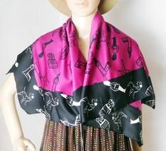 "Disney 101 Dalmations Women's Dress Scarf - 34 1/4"" x 35 1/2"" - Polyester - $14.01"