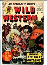 Wild Western #50 1956-Marvel-Kid Colt-Ringo Kid-Black Rider-VG/FN - $55.87