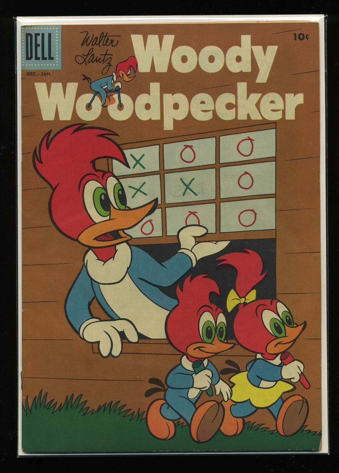 Woody Woodpecker #40 VG 1956 Dell Comic Book