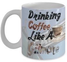 Gilmore Girl's Mug (11 oz)\ Drinking Coffee Like A Gilmore \ Gilmore lov... - £10.45 GBP