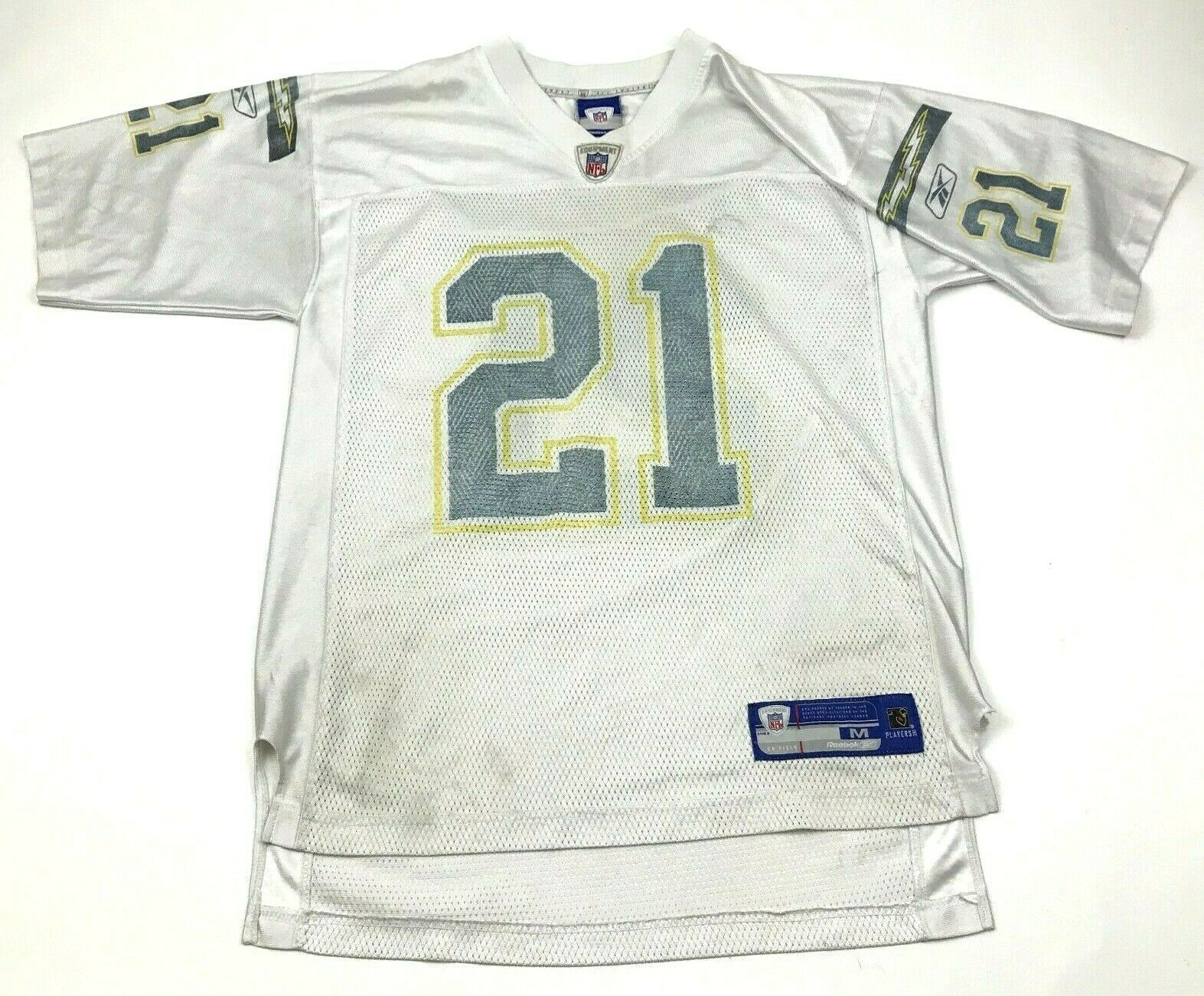 Primary image for VINTAGE Reebok LaDainian Tomlinson San Diego Chargers Football Jersey Size Med M