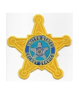 US Secret Service  Special Agent Badge Star  4.75 x 4.75 in - $12.99