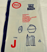 Hoover Type J Constellation Vac Cleaner Bags 40-2400-02 - $4.46