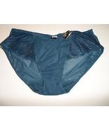 Wacoal La Femme Bikini Panty 843117 Teal Size 5-S $25 NWT - $9.59