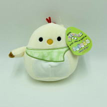 "Squishmallows Todd Rooster Chick Bandana 5"" Easter Stuffed Animal Kellytoy NWT - $13.99"