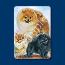 Playing cards: Pomeranian Designed by Ruth Maystead (POM-PC) - $6.64