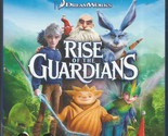 "Rise of the Guardians BLU-RAY+DVD Region B  ""Brand New"""