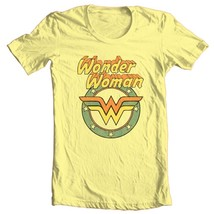 Wonder Woman logo T-shirt retro TV old style Bronze Age Age 100% cotton DCO607 image 2