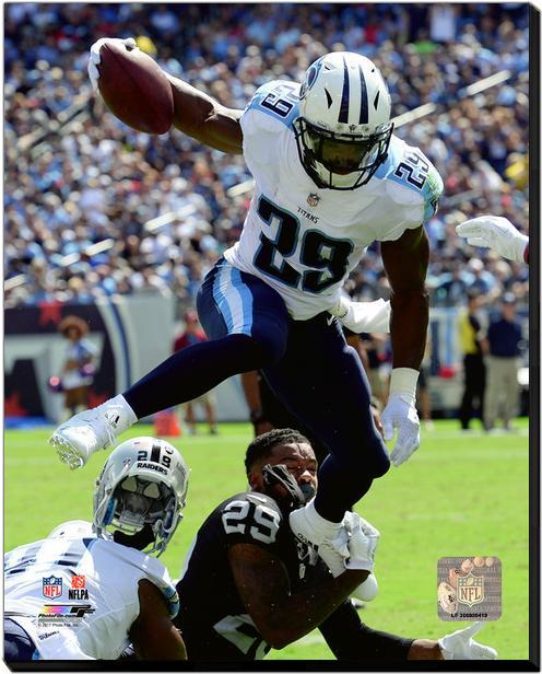 DeMarco Murray 2017 Titans vs Raiders - 16x20 Photo on ...