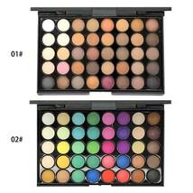 40 Colors Eyeshadow Palette Makeup Waterproof Smoky Pearl Matte Shimmer ... - $6.99