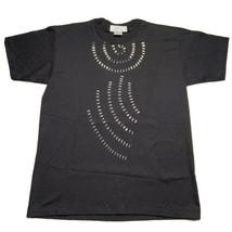 Vintage 90's Anvil Men's Size Large Shiny Silver Metallic T Shirt Single... - £10.74 GBP