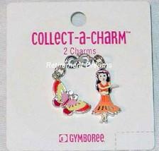 Gymboree Charm Bracelet Jewelry NEW Tropical Paradise Butterfly Butterflies Hula
