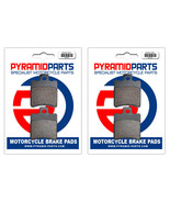Front & Rear Brake Pads (2 Pairs) for Piaggio Vespa 125 Typhoon Catalyze... - $33.59
