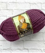 Lion Brand Wool-Ease Thick & Quick Yarn 146 Fig Super Bulky 640 Plum Wine - $7.62