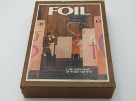 Vintage FOIL Board Game with Original Sealed Card Packs - $34.95