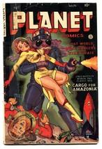 Planet #70 -1953-Fiction House-GGA cover-Golden-Age-Comic book - $485.00