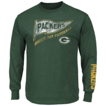 Majestic Men's NFL The Life Above Long-Sleeved Tee Packers XL #NJBNR-494 - $24.99