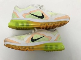 Nike Women's Air Max White Orange Green Running Shoes Sz 6.5 - $59.39