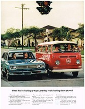 Vintage 1969 Magazine Ad Volkswagen Is Short High & Quite Ugly But Big Economy - $5.93
