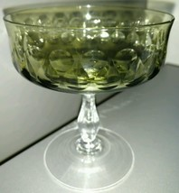 Noritake Crystal Aquarius Green Champagne Tall Sherbet (Multiple Available) - $11.26