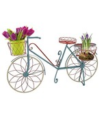 Deco 79 Metal Bicycle Plant Stand, 54 by 32-Inch, Green - $147.76