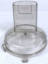 Black & Decker Short Cut Food Processor Lid W Chute * Only * Model: F1-CFP-10 - $7.83
