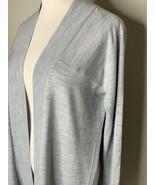 LULULEMON Blissful Zen Sweater Women's Sweater Gray Cardigan Sz 6 NWT $138 - $69.95