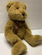 "RUSS Berrie Chadsworth Bear Large 15"" SUPER SOFT Cuddly Plush Rare Vintage - $27.99"