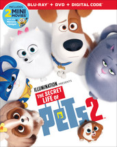 The Secret Life of Pets 2 [Blu-ray+DVD+Digital, 2019]
