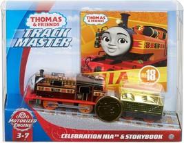 Thomas & Friends Trackmaster Celebration Nia & Storybook New 75 Anniversary New - $37.99