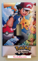 Pokemon XY Light Switch Duplex Outlet & more Wall Cover Plate Home decor