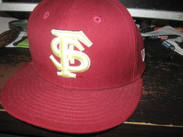FLORIDA ST SEMINOLES FITTED HAT(7) EMBRIODED! - $9.99