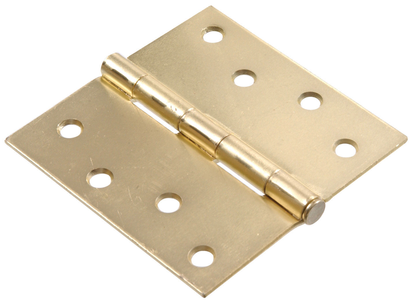 "Brass Finish 2-Pack 851598 3/"" Heavy Duty Spring Hinge Adjustable"