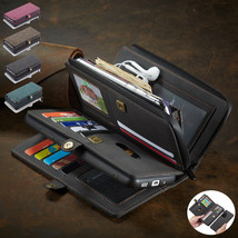 For Samsung S20Ultra A51 A71 Note10 20 Leather Wallet Magnetic flip back cover - $89.55