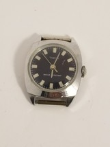 Vintage Timex Watch Black Face - $9.49