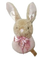 "Dan Dee Bunny Rabbit Rattle Lovie 8'5"" Pink and Tan - $6.58"