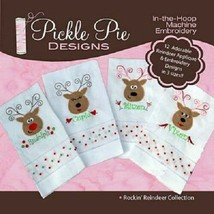Rockin' Reindeer Collection Pickle Pie Designs - $21.78