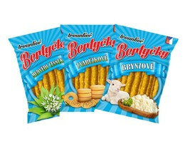 Bertycky Crunchy Chopsticks Snack Food To Beer and Wine  - $65.99