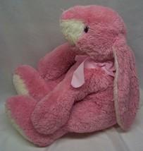 """Mary Meyer LARGE FLOPPY PINK BUNNY RABBIT 13"""" Plush Stuffed Animal Toy image 2"""