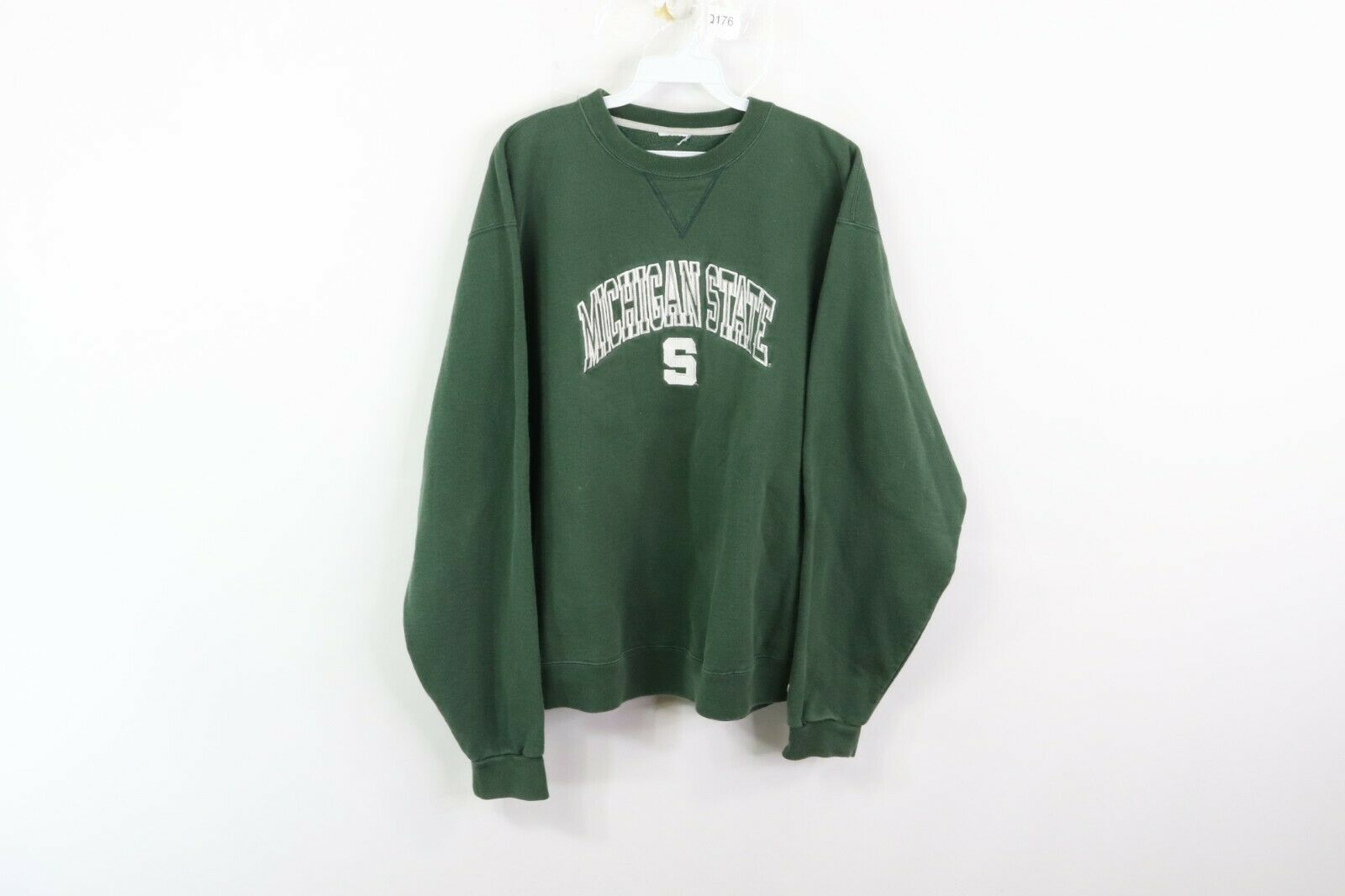 Vintage 90s Champion Mens Large Michigan State University Spell Out Sweatshirt