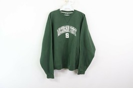 Vintage 90s Champion Mens Large Michigan State University Spell Out Swea... - $44.50
