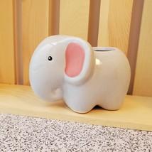 "Emmy Elephant Planter - Ceramic Animal Pot for Succulents 4"" image 4"