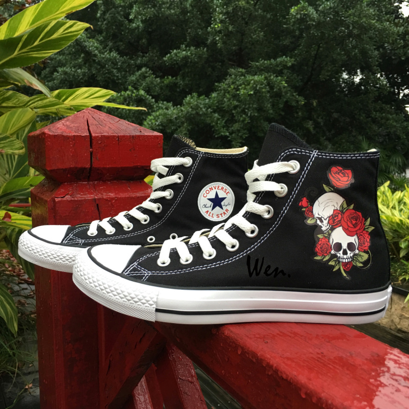 0c4ce586d537 Classic Black Converse Original Design Red and 50 similar items. Img 1400