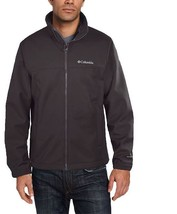 Columbia Men's Mt. Village Softshell Jacket GREY GRAY M MEDIUM MD NEW NW... - $56.06