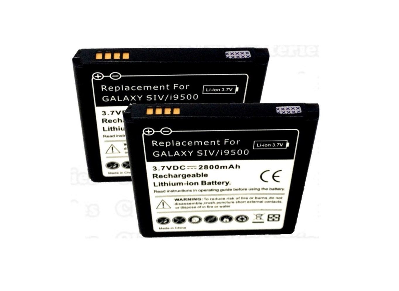 Samsung Galaxy S4 SCH-R970 2X Battery Spare S IV US Cellular Backup Replacement