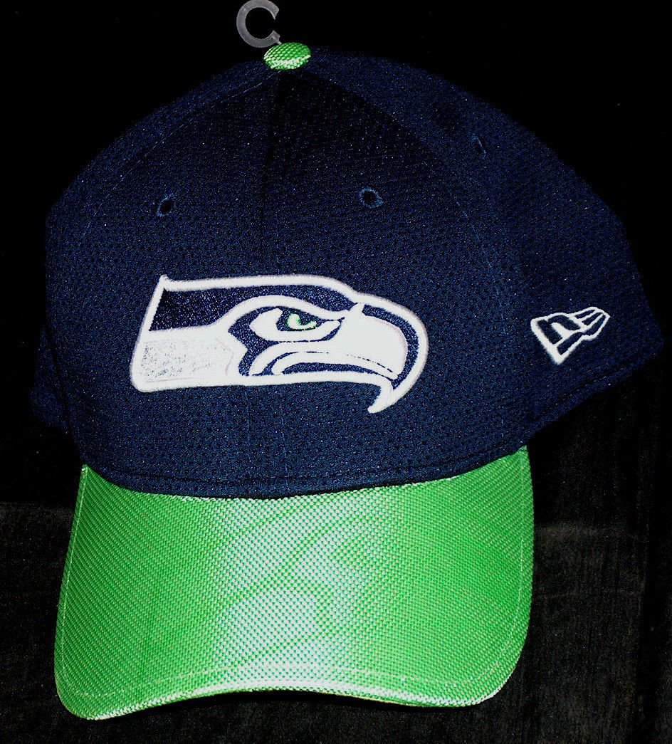 new concept 2e9c2 f800a S l1600. S l1600. Previous. NEW Era NE Seattle Seahawks NFL Sz Large-XL OS Flex  Fit 39 Thirty Hat